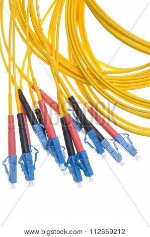 Fiber optic patchcords