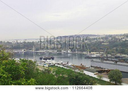 Bay And Port Of The Black Sea, Sevastopol