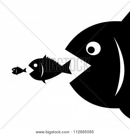Big Fish Eat Little Fish