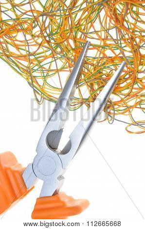 Pliers and wires