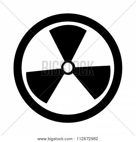 Radioactivity Sign Icon