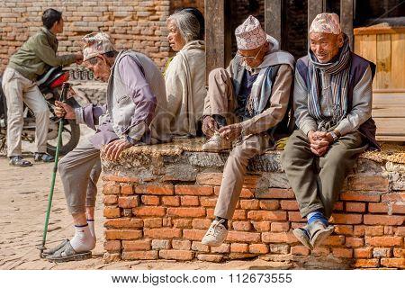 Old People Bhaktapur