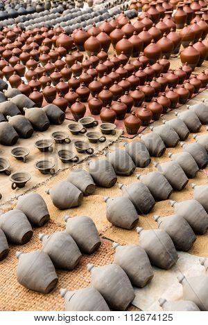 Clay Pots Bhaktapur