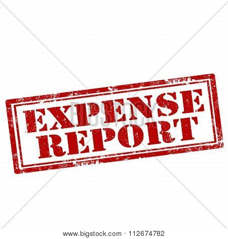 Expense Report-stamp