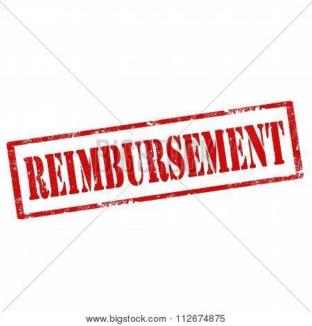 Reimbursement-red Stamp