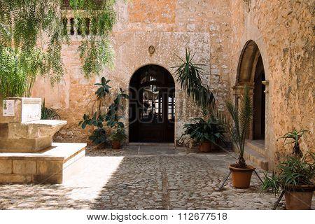 Mediterranean Patio In Santanyi, Mallorca