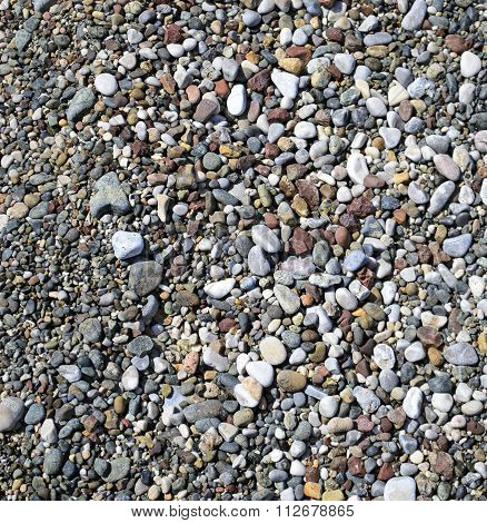 ground pebbles texture