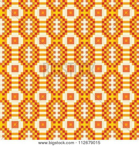 Colourful Ethnic Ornamental Patterns Mexican, Seamless Vector Pattern