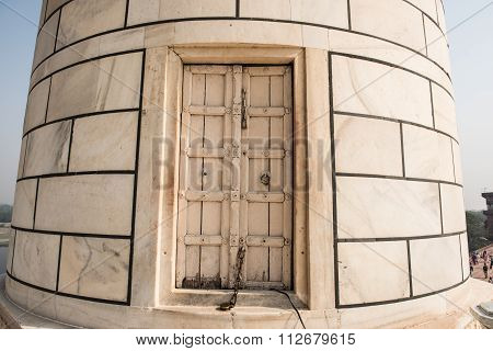 Locked Door of Minaret