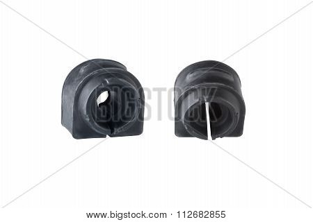 automobile Spare Parts Bush of stabilizer on a white background