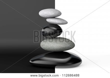 Pyramid Of The Balanced Stones