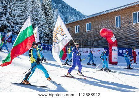Open new ski season 2015-2016 in Bansko, Bulgaria