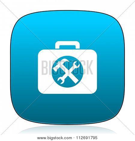 toolkit blue icon