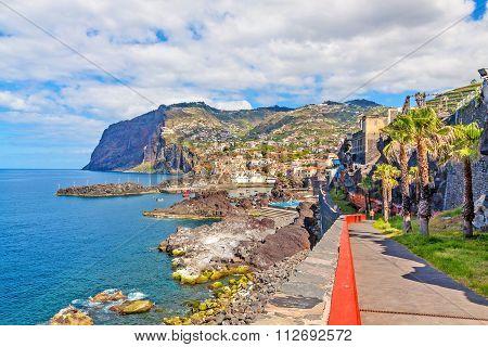 Cabo Girao / Harbor Camara De Lobos, Madeira
