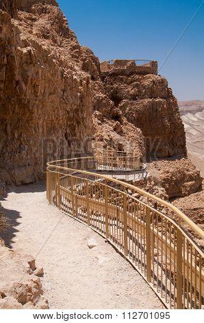Masada Walking Path