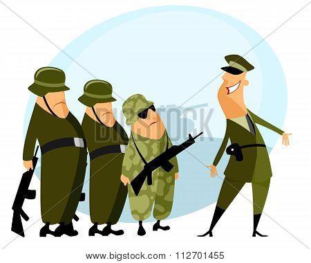 Platoon And Commander