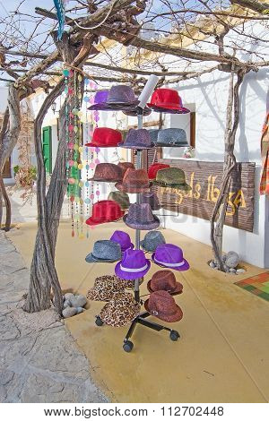 Hats Rack At Angels