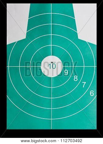 Perfect Strike In Bullseye