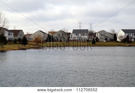 Lake in West Joliet