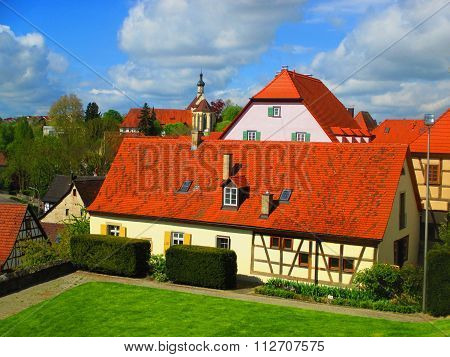 Houses In Bad Wimpfen, Germany