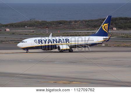 Ryanair In Spain