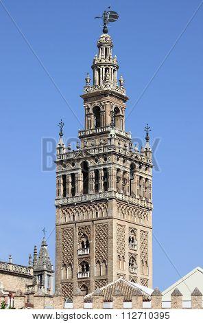 Giralda Bell Tower in Sevilla