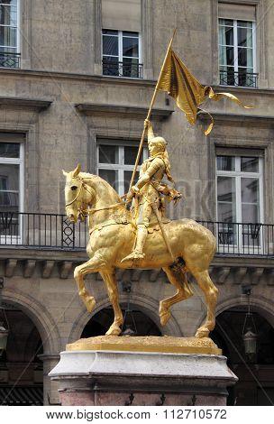 Saint Joan of Arc in Paris