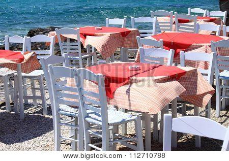 Mediterranean Restaurant Tables