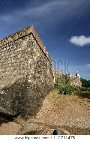 South America Venezuela Isla Margatita La Asuncion Castillo