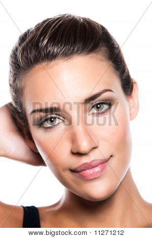 Young Woman Pretty Face