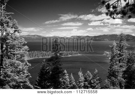 Lake Tahoe And Emerald Bay