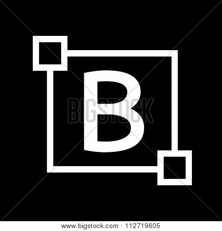 Bold Text Edit Letter Icon