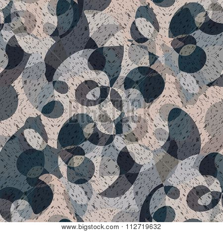 Camouflage Abstract Background Vector Illustration