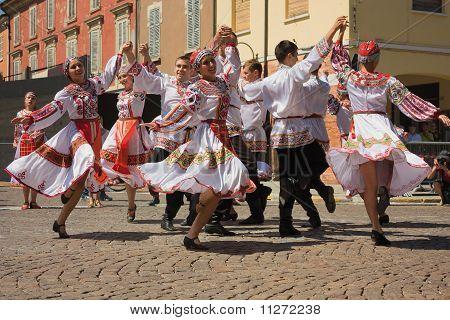 Bailarines rusos
