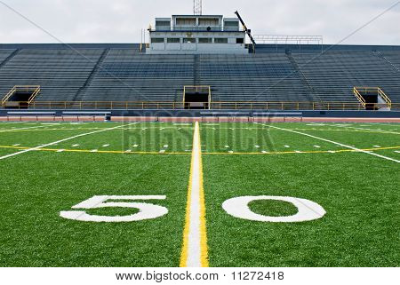 Fifty Yard Line with Bleachers