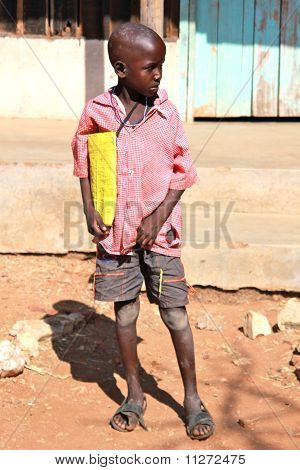 Samburu schoolboy