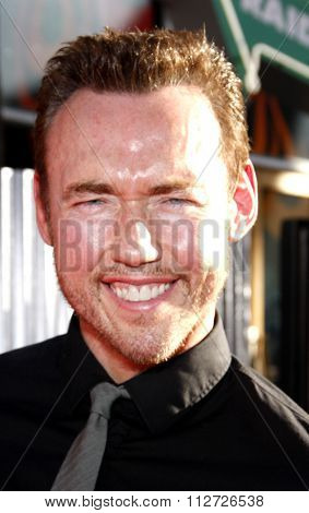 HOLLYWOOD, CALIFORNIA - October 2, 2011. Kevin Durand at the Los Angeles premiere of