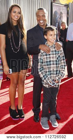 Sugar Ray Leonard at the Los Angeles Premiere of