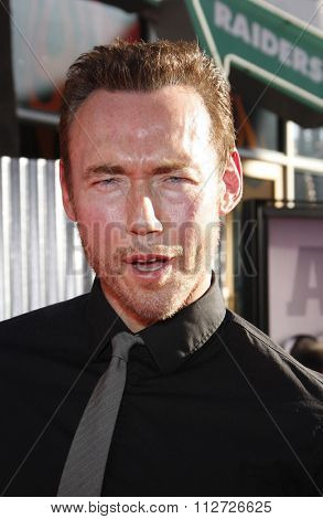 Kevin Durand at the Los Angeles Premiere of
