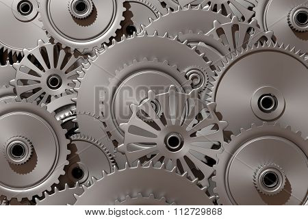 Steel Cog Wheels Of Different Size