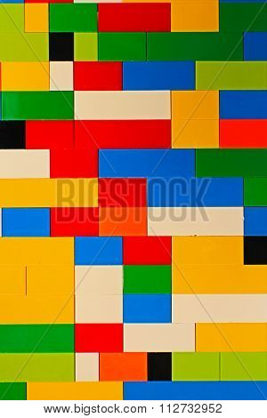 Building Block Colour Pattern