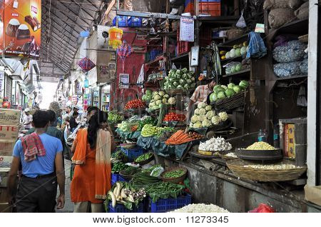 Market Hall In Mumbai