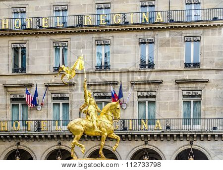 Joan Of Arc , Paris, France