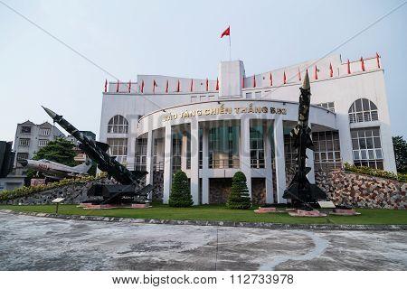 Hanoi, Vietnam - Circa September 2015: B-52 Victory Museum In Hanoi,  Vietnam