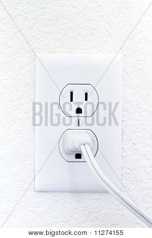 household white electric outlet