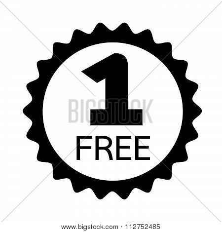 Buy One Get One Free Icon Symbol Illustration Design