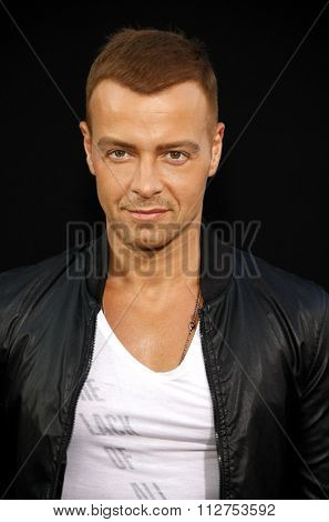 LOS ANGELES, CALIFORNIA - August 1, 2012. Joey Lawrence at the Los Angeles premiere of