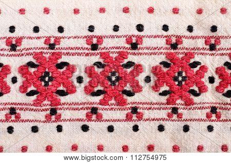 Bulgarian hand embroidery