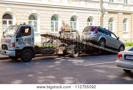 Evacuation Vehicle For Traffic Violations