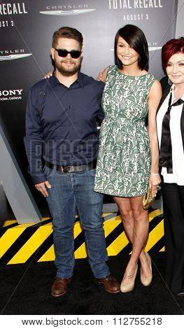 LOS ANGELES, CALIFORNIA - August 1, 2012. Jack Osbourne at the Los Angeles premiere of